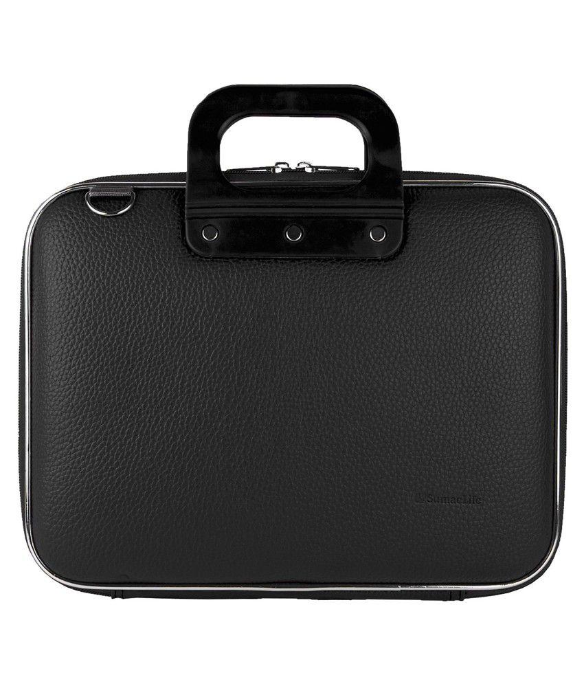 Dass Black Nylon Laptop Carry Case