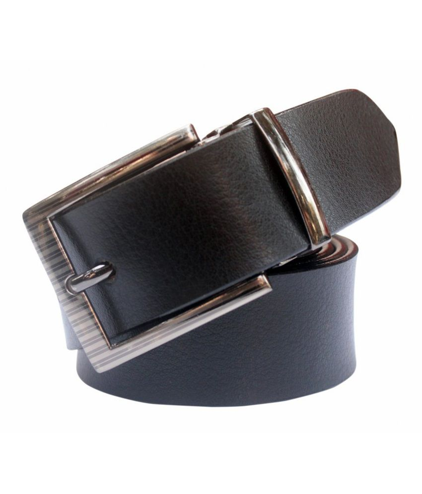 Winsome Deal Black Formal Non Leather Belt for Men