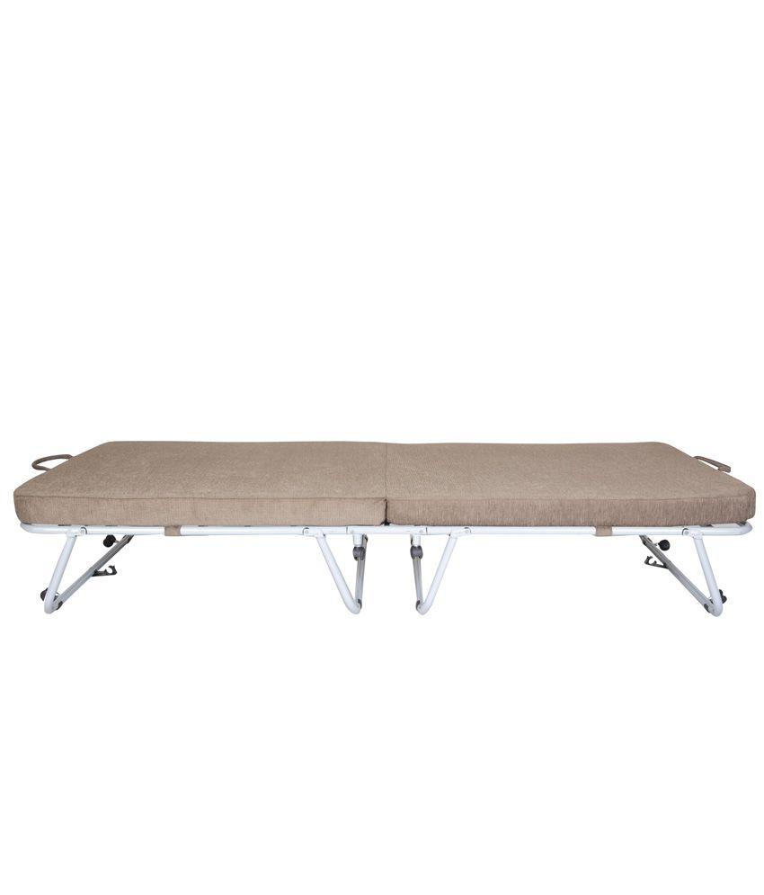 furniturekraft single folding bed with mattress buy furniturekraft