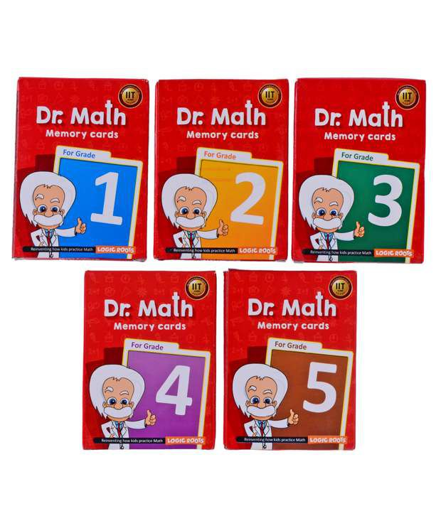 Dr Math (Grade 3) - Memory Flash Cards for Class 3 Maths for Concepts, Clarity and Recall