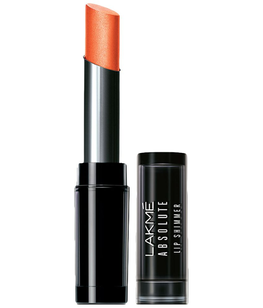 Lakme Absolute Orange Glitz Illuminating Lip Shimmer 3.6