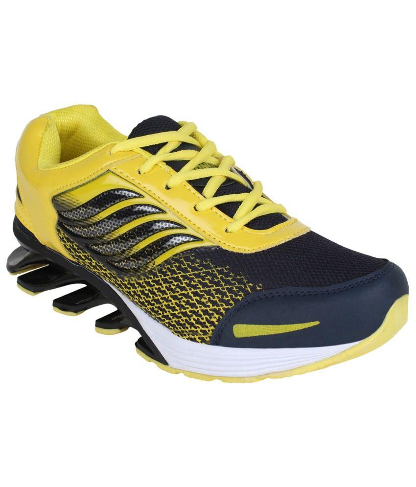Oricum Footwear Yellow Running Shoes