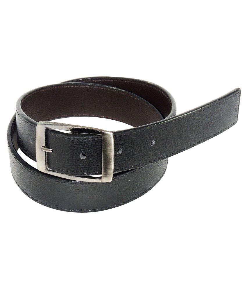 Rabarman Black Belt For Men Pack Of 4