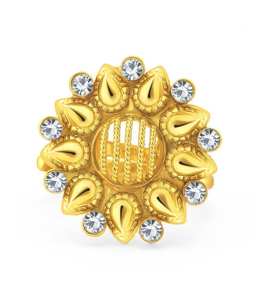 Sukkhi Golden Alloy Toe-Ring