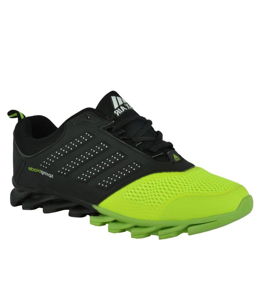 Max Air Green Running Shoes