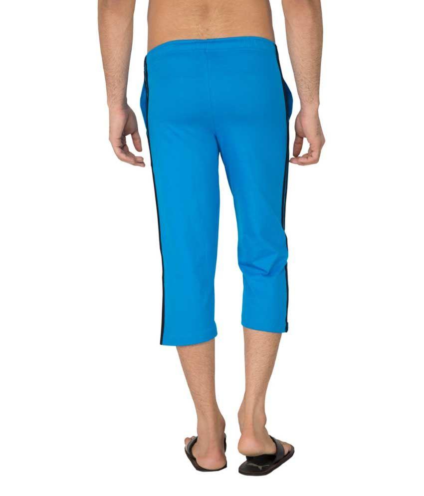 Clifton Fitness Men's Capri- Dark Blue