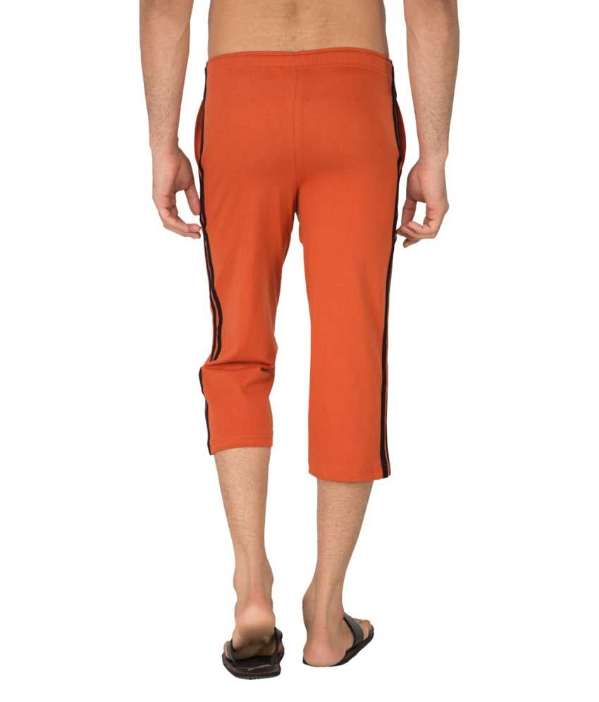 Clifton Fitness Men's Capri- Rust