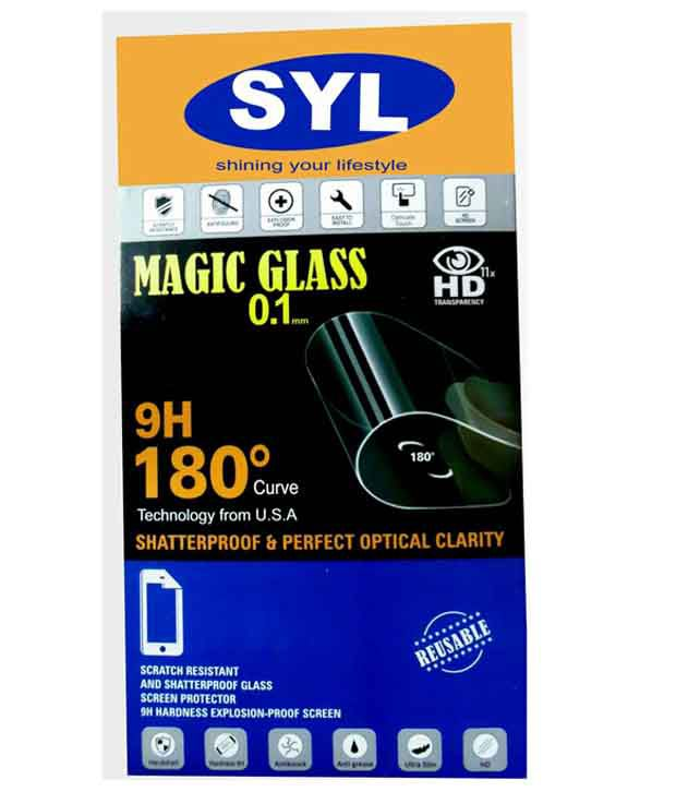 Lava Iris X1 Mini Tempered Glass Screen Guard by SYL