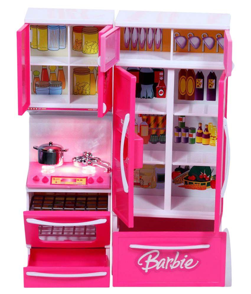 Kitchen Set Online: Dream Deals Pink Barbie Kitchen Set