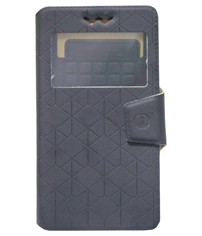 Jo Jo Flip Cover For Samsung Galaxy Mega 2-Black