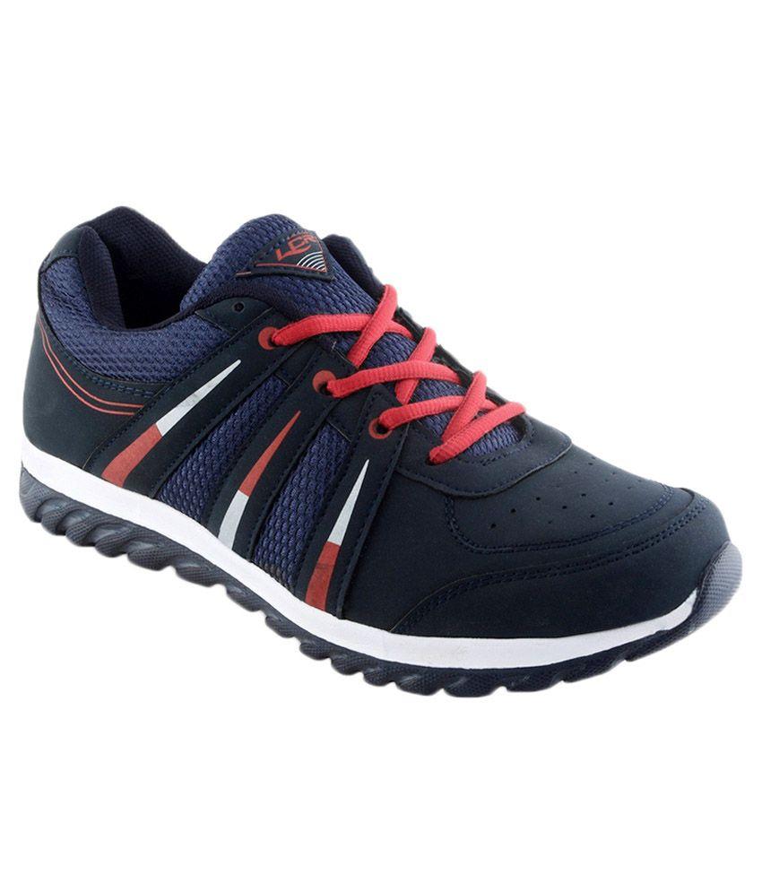 Lancer Navy & Red Running Sport Shoes