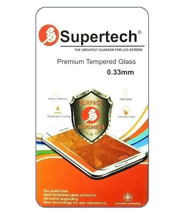 Microsoft Lumia 535 Tempered Glass Screen Guard by SUPERTECH