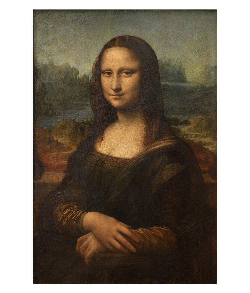 Tallenge Mona Lisa By Leonardo da Vinci Framed Art Print