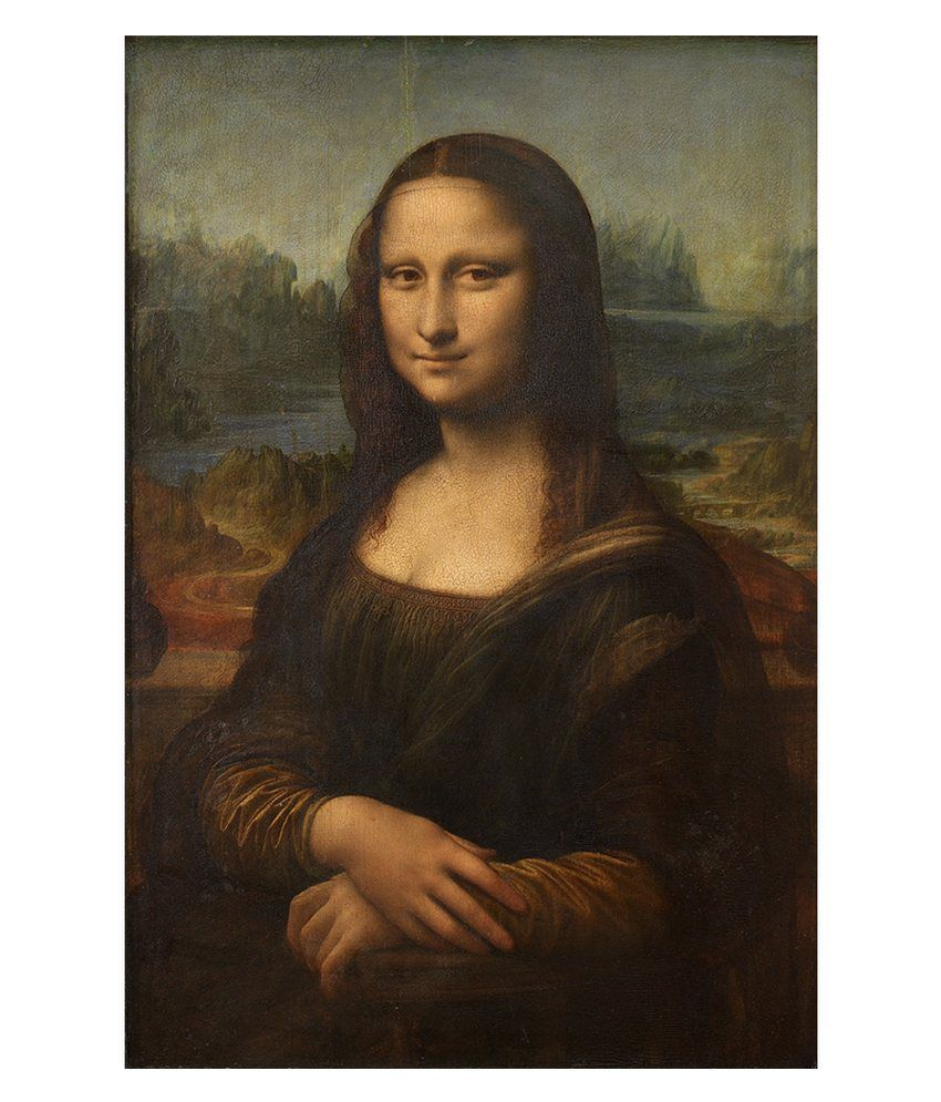 Tallenge Mona Lisa By Leonardo da Vinci Gallery Wrap Canvas Art Print
