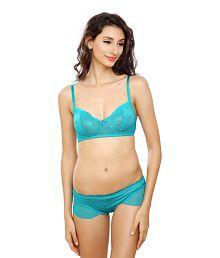 Lady Love Blue Lace Bra & Panty Sets