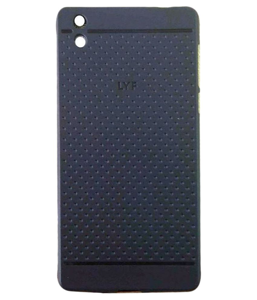 huge discount 49407 f783f Colorcase Back Cover for Jio Lyf Water 1 - Black