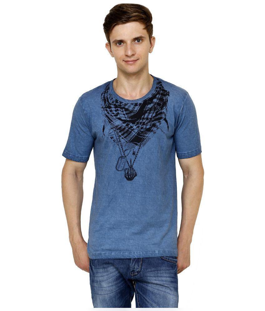 Era Of Attitude Blue Round T-Shirt