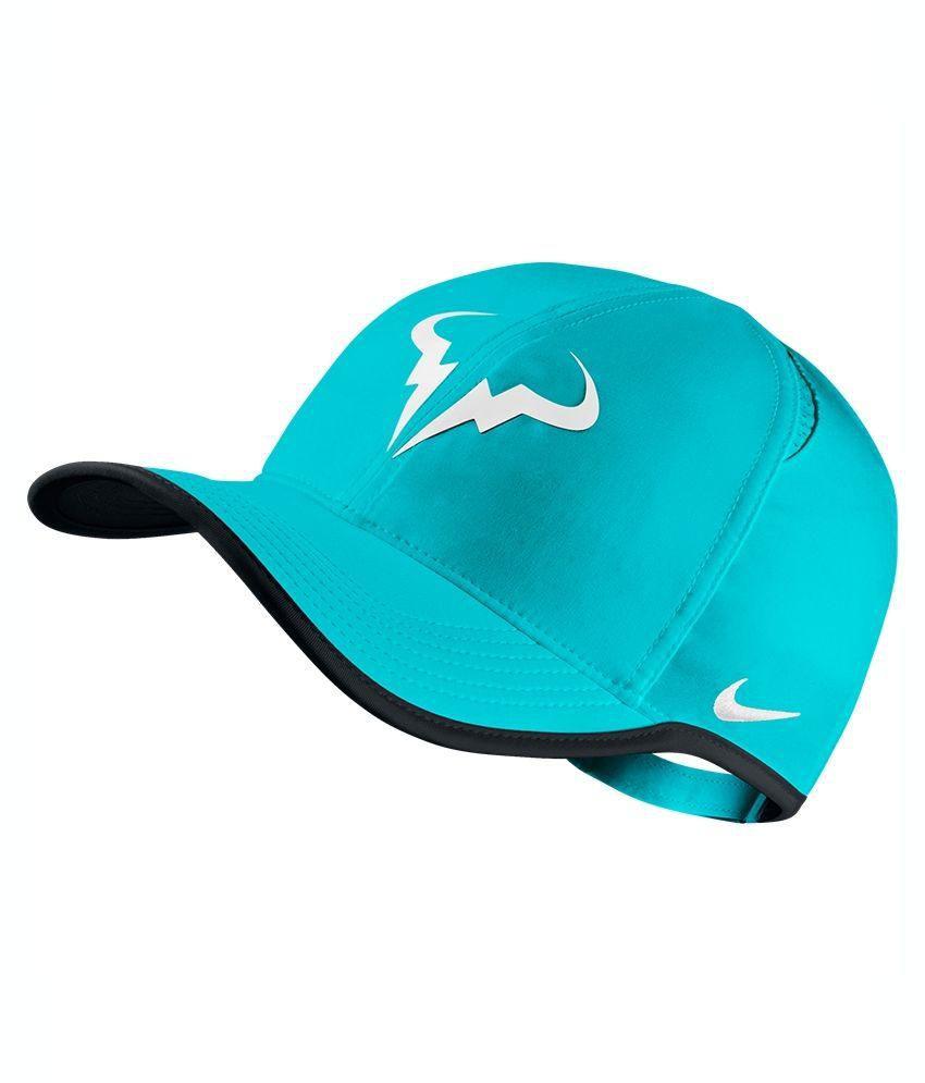 0ddb9b1734f Nike Blue Cotton Tennis Cap - Buy Online   Rs.