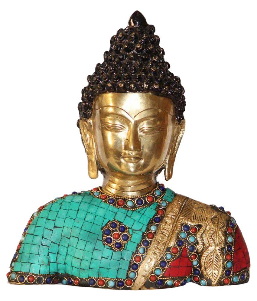 Nayahub Stone Work Half Buddha