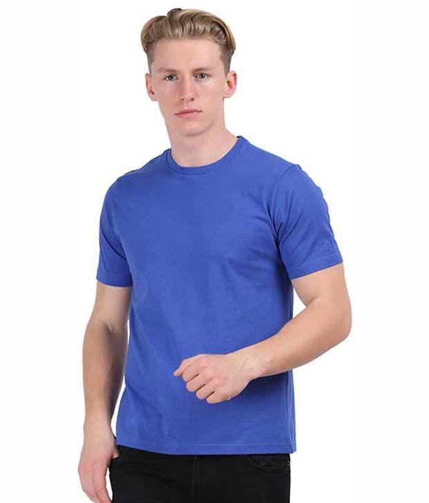 Stuntoons Blue Round T Shirts