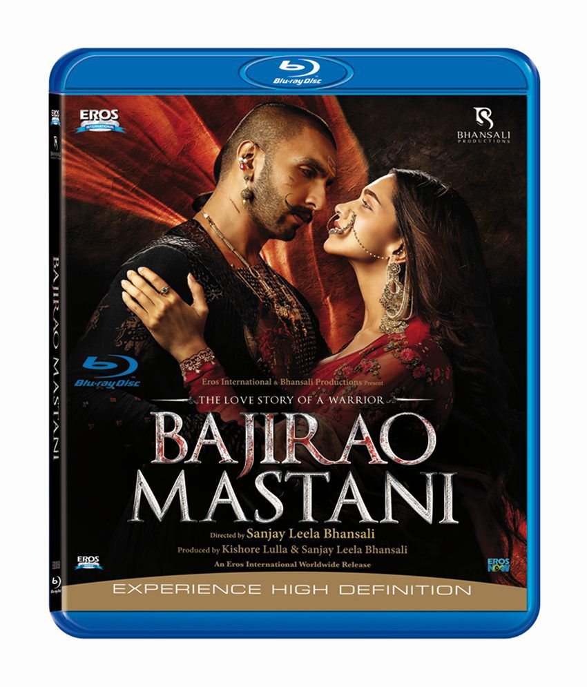 Bajirao Mastani Blu-ray Hindi
