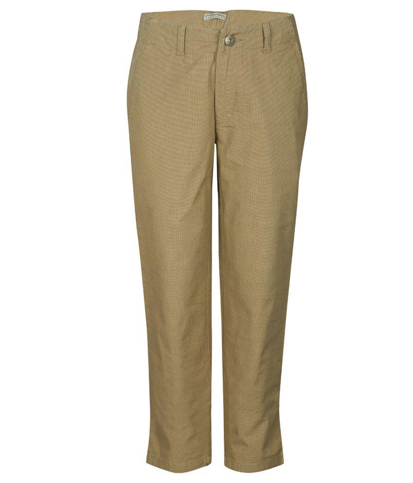 Gini & Jony Brown Pants