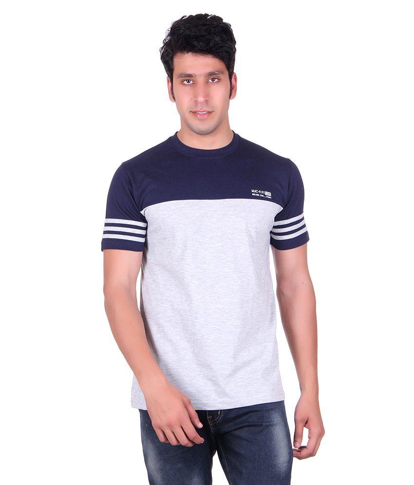 Montreal Grey Round T Shirts