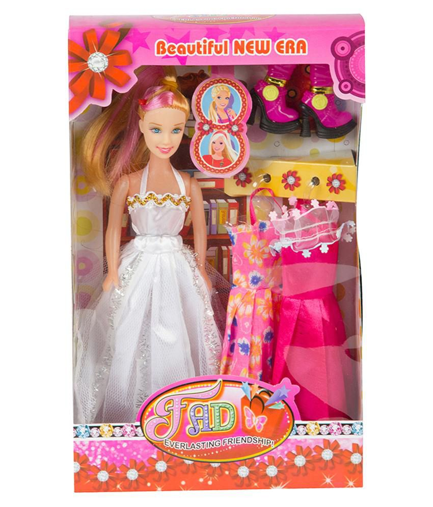 Mykidopedia Multicolour Fad Doll Set