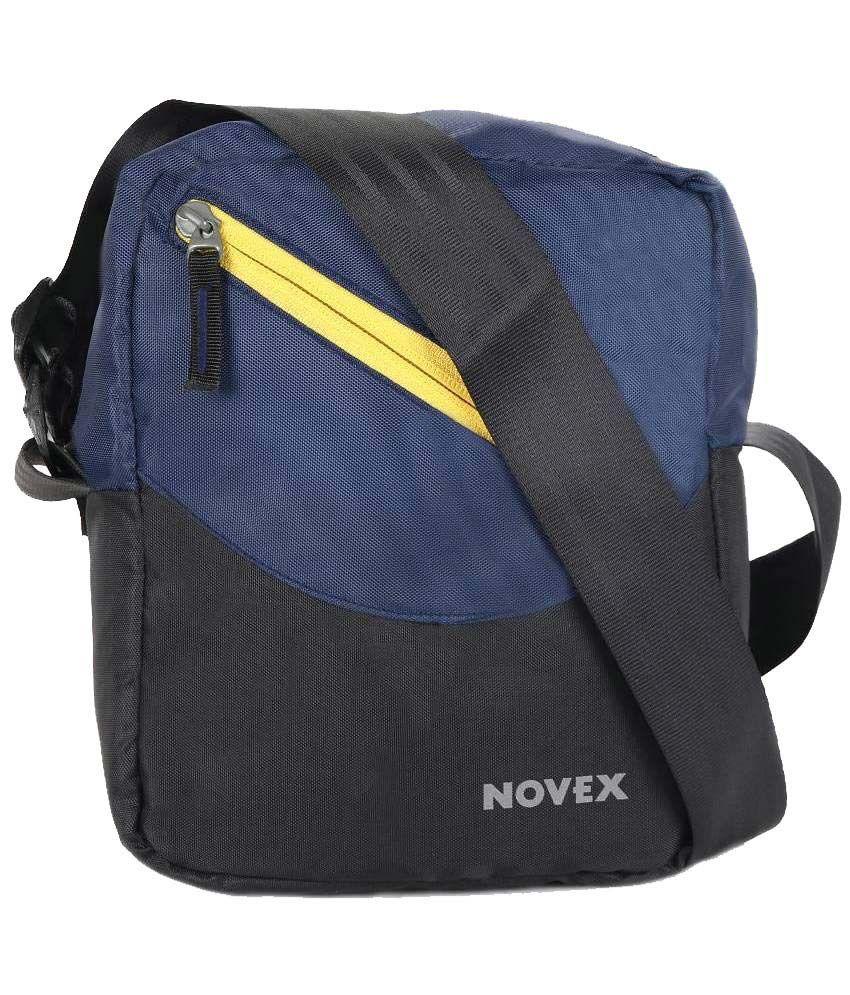 Novex Fern Blue Messenger Bag