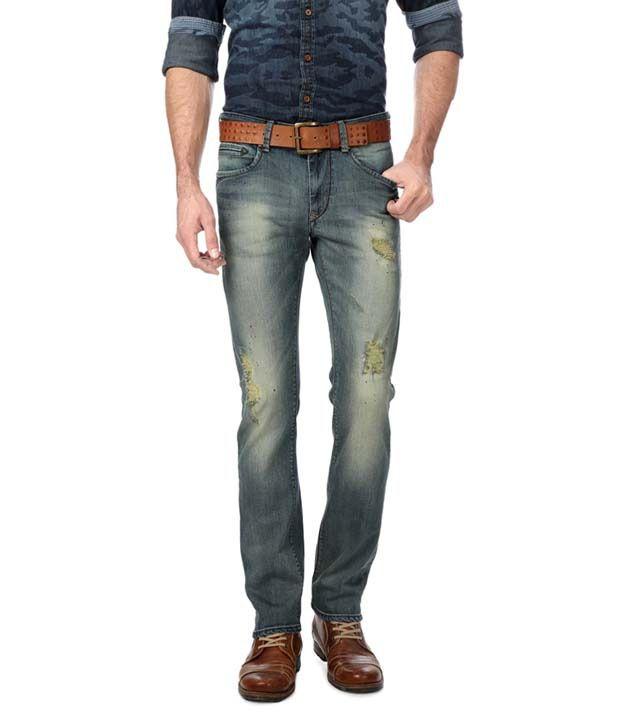 American Bull Blue Slim Fit Jeans