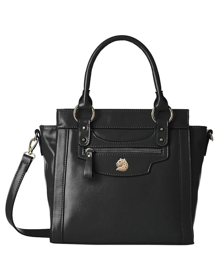 Covo Black Business Shoulder Bag