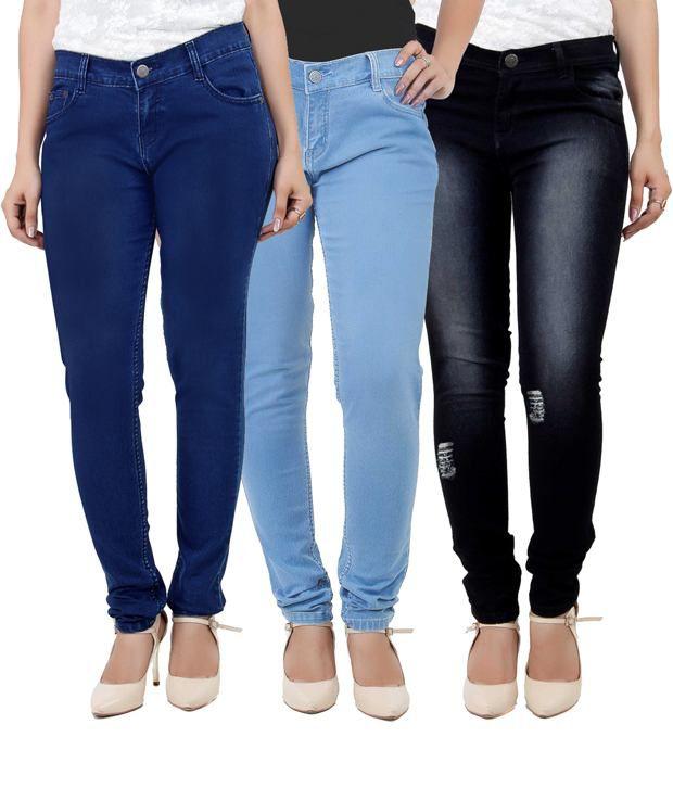 Haltung-Blue-Cotton-Jeans