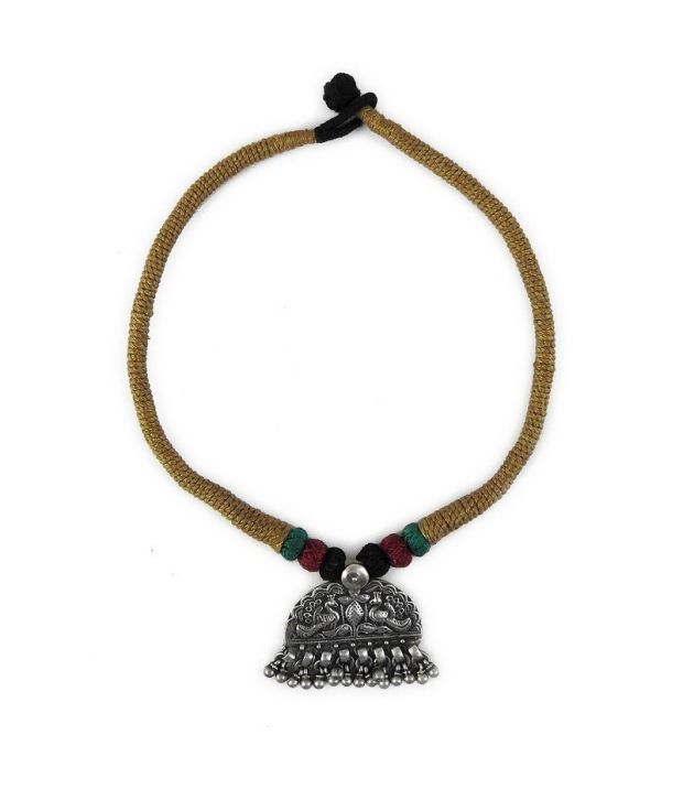 Miska Silver 92.5 Sterling Silver Necklace