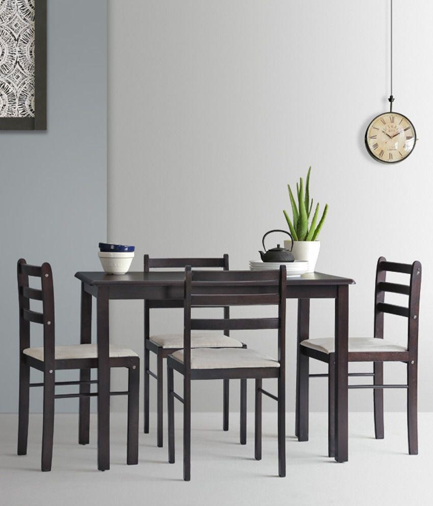 My Best Buy Dining: Caroline 4 Seater Dining Set