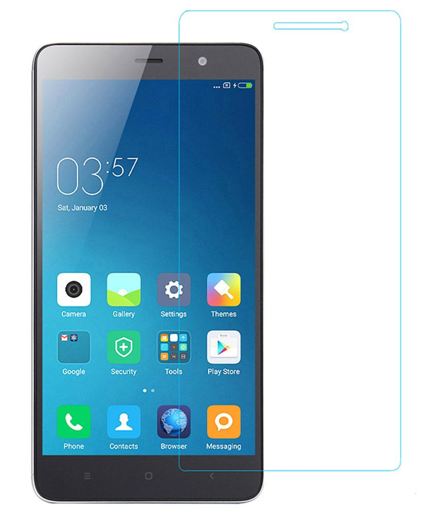 Xiaomi Redmi Tempered Glass Screen Guard by Coskart
