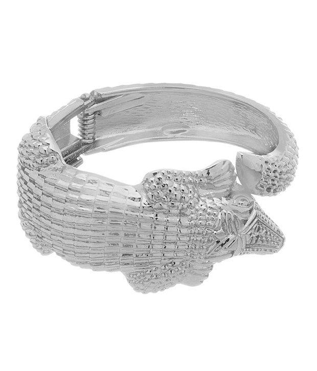 Factorywala Silver Alloy Bracelet