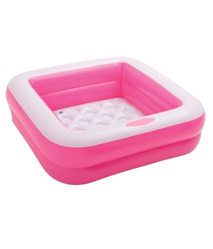 Gousia Pink Rubber Baby Swimming Pool Best Price In India