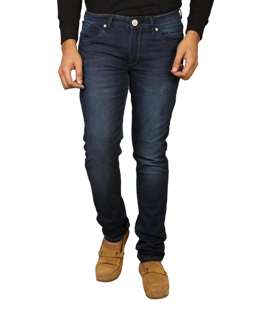 Cross Plus Blue Slim Fit Jeans