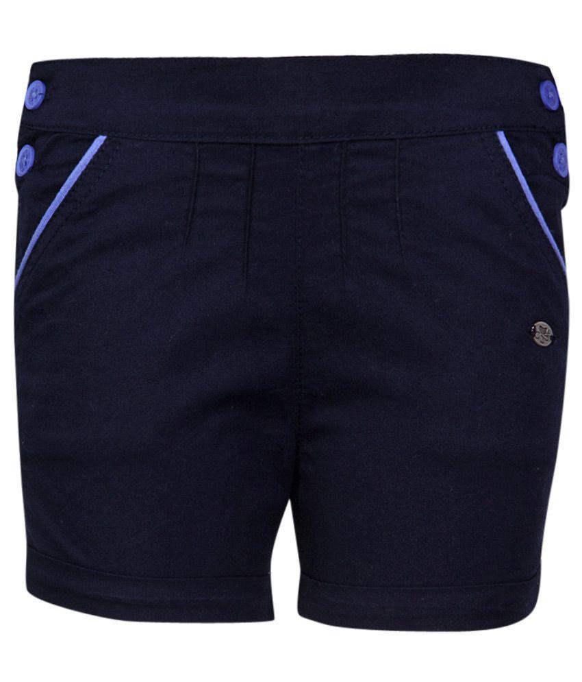 FS MiniKlub Navy Cotton Shorts