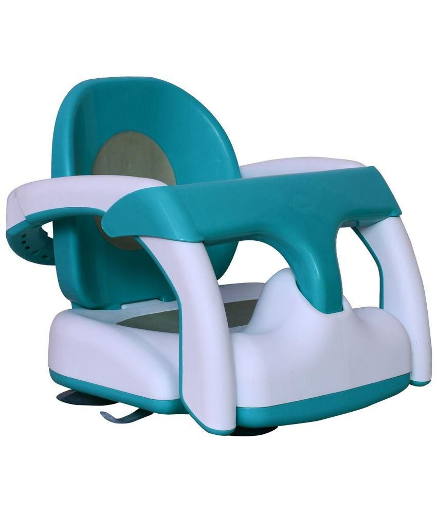 Planet of Toys Baby Bath Chair - Blue and White - Buy Planet of Toys ...