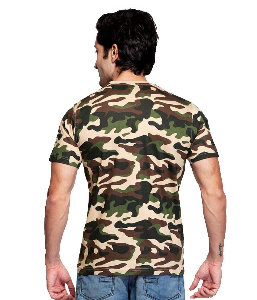 Clifton Fitness Men s Army T-shirt -Saffari - Buy Clifton Fitness ... 0f3daae8384e