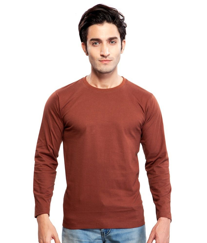 Clifton Fitness Men's Mustee Full Sleeve -Brown
