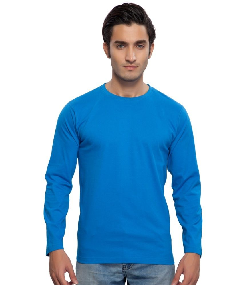 Clifton Fitness Men's Mustee Full Sleeve -Royal Blue