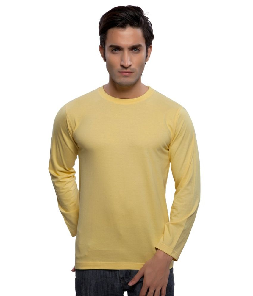 Clifton Fitness Men's Mustee Full Sleeve -Yellow