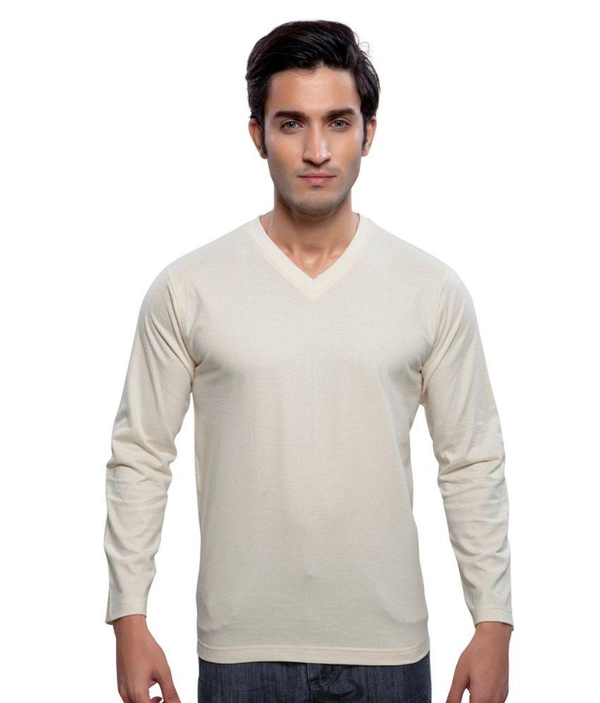 Clifton Fitness Men's Mustee Full Sleeve -Off White