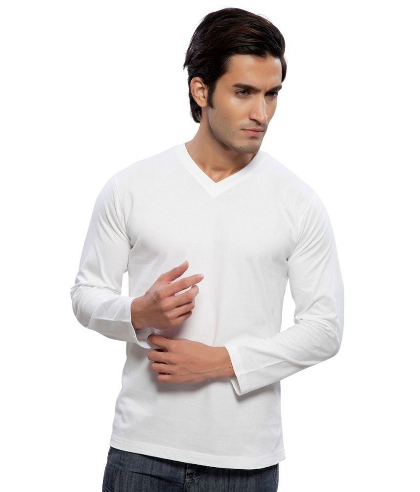 Clifton Fitness Men's Mustee Full Sleeve -White