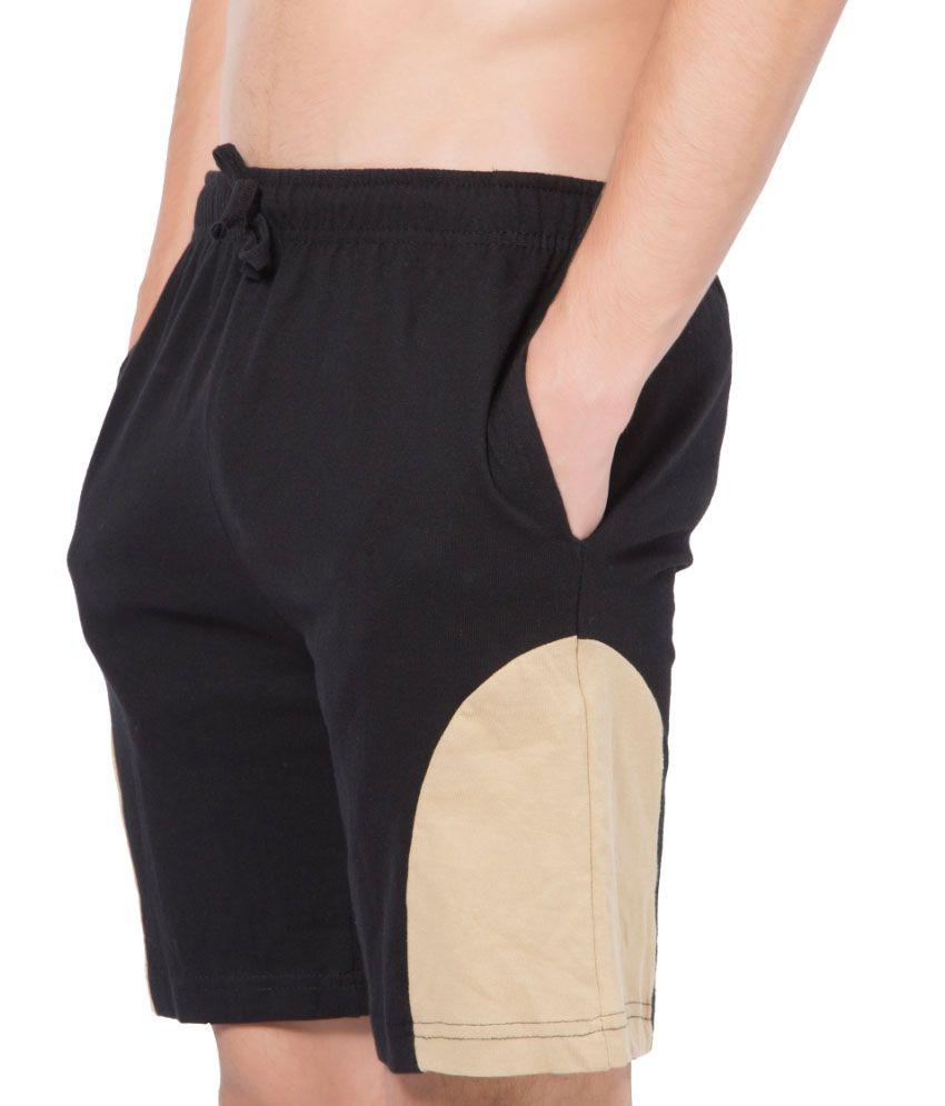 Clifton Fitness Men's Shorts -Black-Saffari