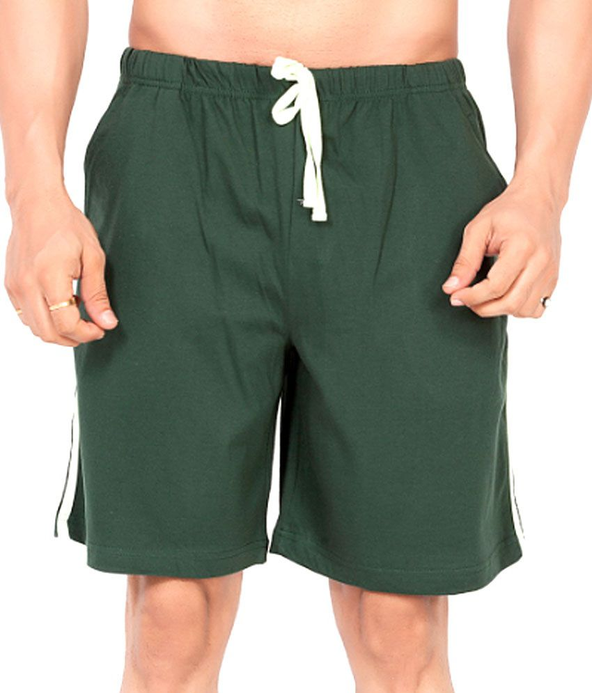Clifton Fitness Men's Shorts -BottleGreen