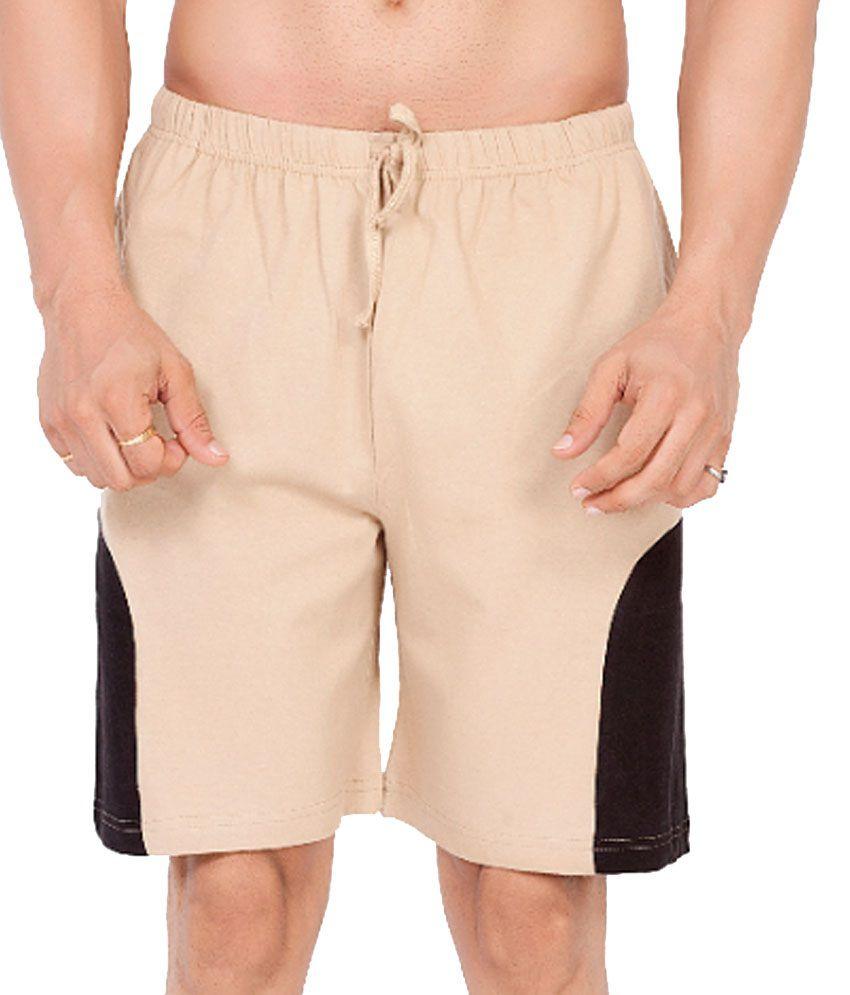 Clifton Fitness Men's Shorts -Saffari/Black