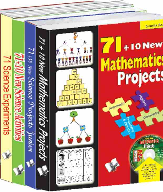 71 Projects For School Students Value Pack: A Set Of Books On Science Projects That Helps Verify Scientific Knowledge Given In The Class